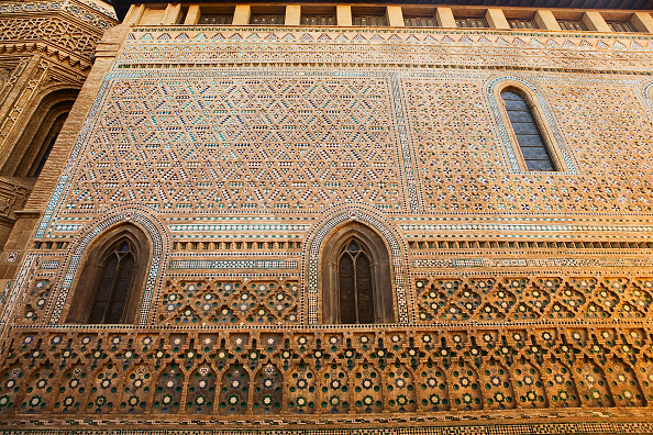 Brick「Arabic wall of the Cathedral, Zaragoza, Spain」:写真・画像(19)[壁紙.com]