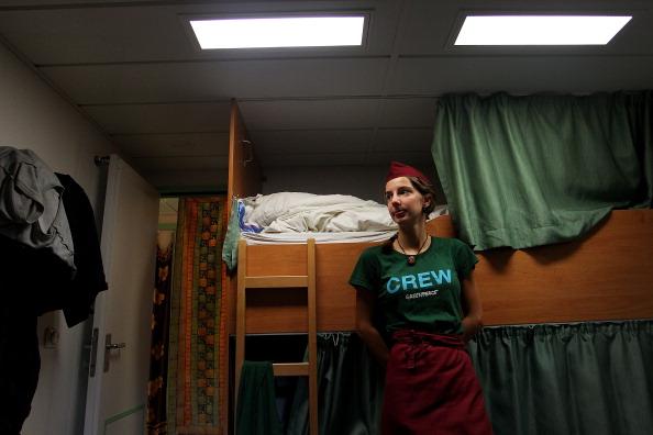 Passenger Cabin「Rainbow Warrior And Crew Sail Into Sydney」:写真・画像(13)[壁紙.com]