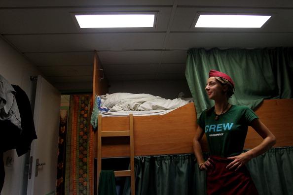 Passenger Cabin「Rainbow Warrior And Crew Sail Into Sydney」:写真・画像(12)[壁紙.com]