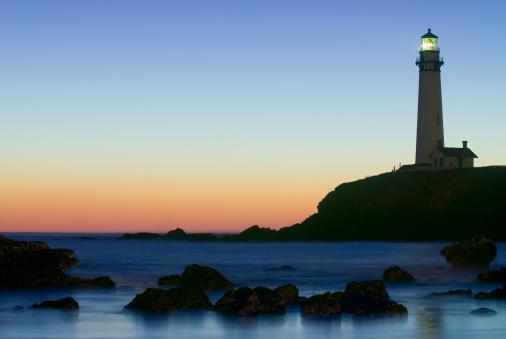 Beacon「Pigeon Point Lighthouse Sunset」:スマホ壁紙(16)
