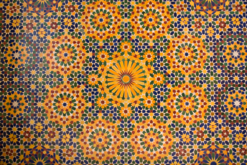 Arabic Style「islamic mosaic in Morocco」:スマホ壁紙(4)