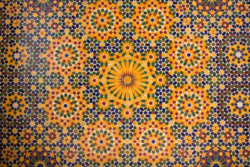 Islam「islamic mosaic in Morocco」:スマホ壁紙(2)