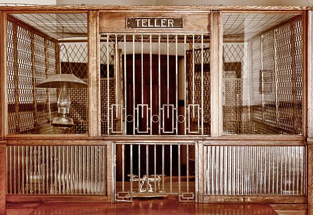 Vintage Bank Counter:スマホ壁紙(壁紙.com)