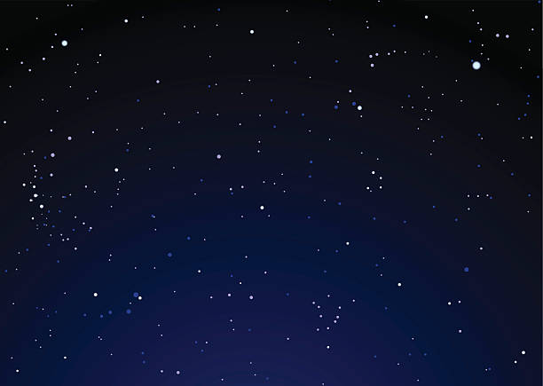 Dark nights sky with bright stars ideal background:スマホ壁紙(壁紙.com)
