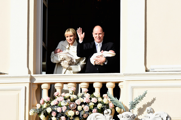 Architectural Feature「Official Presentation Of The Monaco Twins : Princess Gabriella of Monaco  And Prince Jacques of Monaco At The Palace Balcony」:写真・画像(13)[壁紙.com]