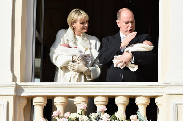 Architectural Feature「Official Presentation Of The Monaco Twins : Princess Gabriella of Monaco  And Prince Jacques of Monaco At The Palace Balcony」:写真・画像(8)[壁紙.com]