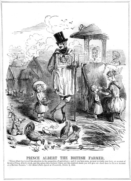Hen「'Prince Albert the British Farmer', 1843.」:写真・画像(4)[壁紙.com]