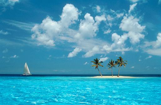 Carefree「Sailing on the Blue Sea」:スマホ壁紙(3)