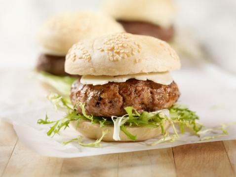Burger「Mini Hamburger with Havarti Cheese」:スマホ壁紙(9)