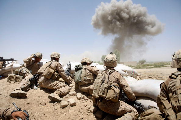 Conflict「U.S. Marines Continue Suppression Of Insurgents」:写真・画像(6)[壁紙.com]