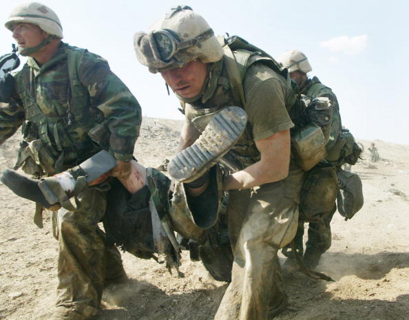 Joe Raedle「War Against Iraq Continues」:写真・画像(1)[壁紙.com]
