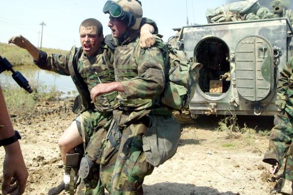 アメリカ合衆国「Coalition Forces Move Through Southern Iraq」:写真・画像(10)[壁紙.com]