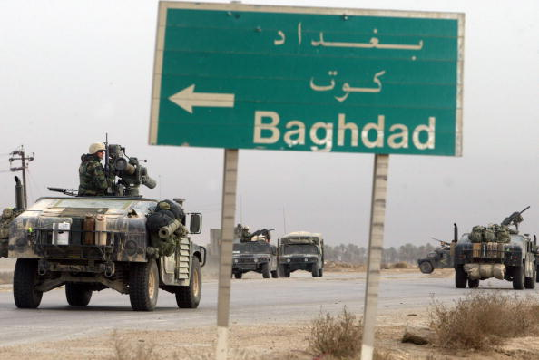 Baghdad「Coalition Forces Move Through Southern Iraq 」:写真・画像(6)[壁紙.com]