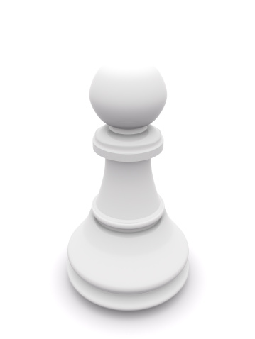 Battle「white pawn isolated on white. 3D chess」:スマホ壁紙(12)