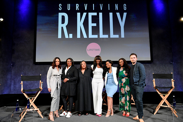 "Kelly public「The Executive Producers And Survivors Featured In Lifetime's ""Surviving R Kelly"" Attend The Emmy FYC Screening At The Paley Center For Media In New York」:写真・画像(13)[壁紙.com]"