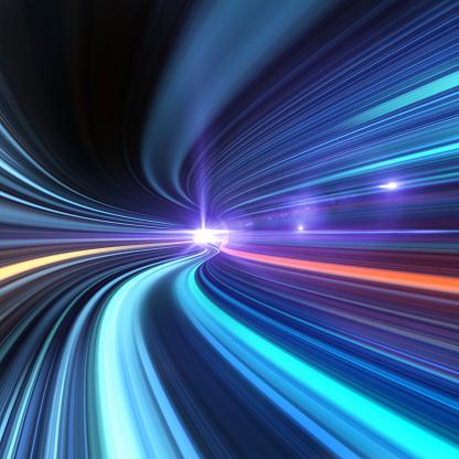 Light Effect「Going Through A Tunnel With High Speed」:スマホ壁紙(4)