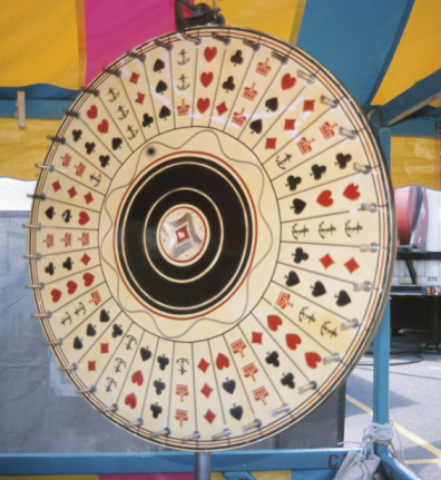 Entertainment Tent「Roulette wheel in carnival tent」:スマホ壁紙(8)