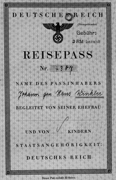 Third Reich「German Passport」:写真・画像(8)[壁紙.com]