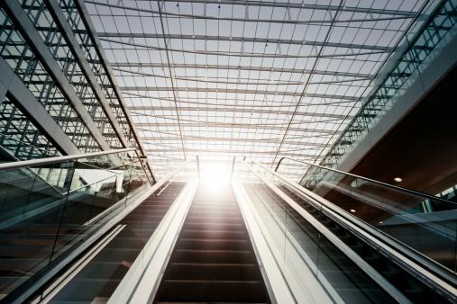 Escalator「太陽へ続くエスカレーター」:スマホ壁紙(12)