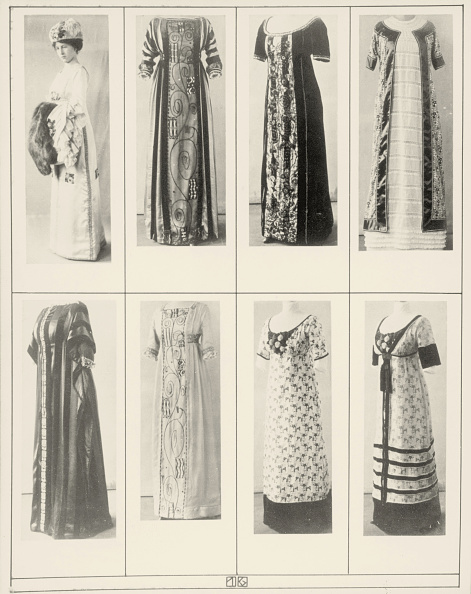 "1910-1919「Gowns and dresses of the Wiener Werkstaette. Photographs of the illustrated book ""Mode des Wiener-Werkstaetten-Archivs"". 1911.」:写真・画像(4)[壁紙.com]"