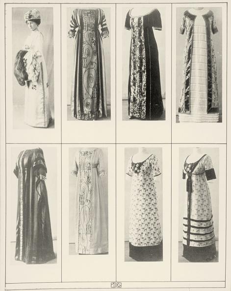 "Evening Gown「Gowns and dresses of the Wiener Werkstaette. Photographs of the illustrated book ""Mode des Wiener-Werkstaetten-Archivs"". 1911.」:写真・画像(18)[壁紙.com]"