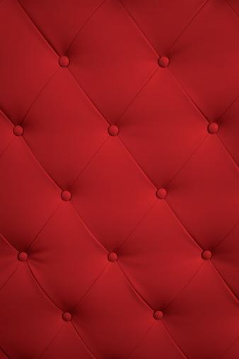 赤「スタイリッシュな赤い革張りの椅子」:スマホ壁紙(4)