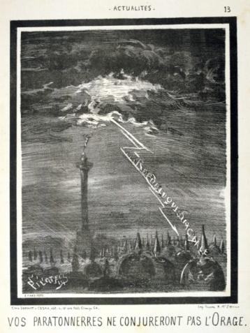 Battle「Lightning strike during Franco Prussian War, 1870」:スマホ壁紙(16)