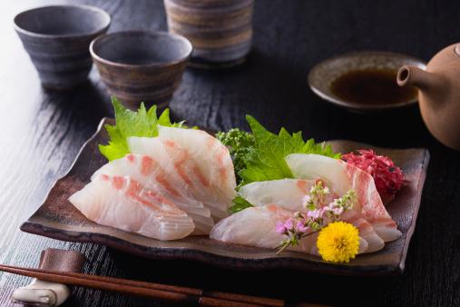 Sake「Sea Bream Sashimi」:スマホ壁紙(12)