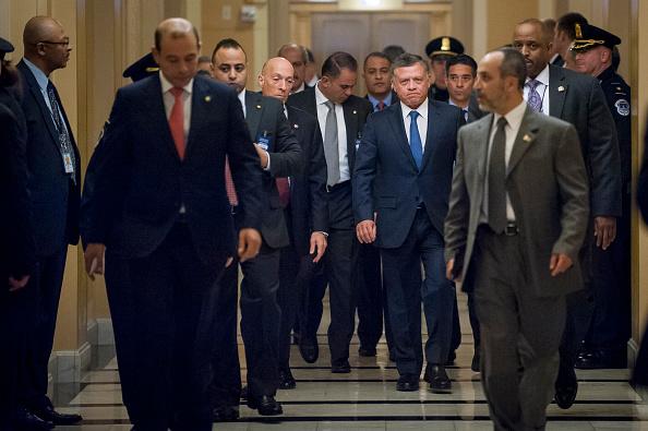 King Abdullah II of Jordan「Jordan's King Abdullah Meets With House Foreign Affairs Chairman Ed Royce On Capitol Hill」:写真・画像(15)[壁紙.com]