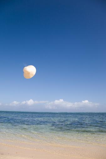 Mid-Air「Hat flying over sea」:スマホ壁紙(16)