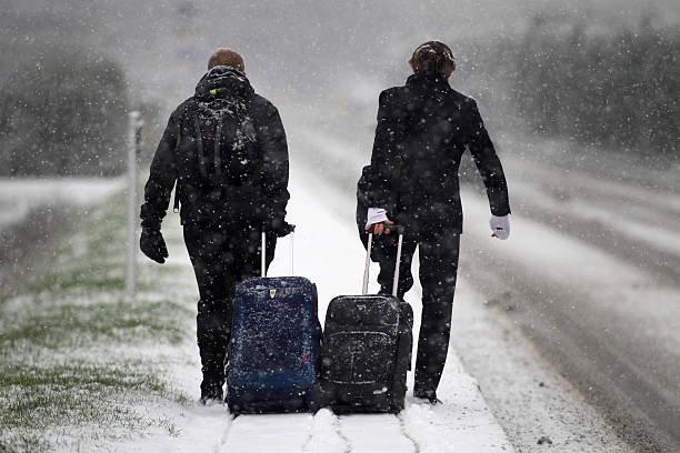 UK Hit By Heavy Snow Fall:ニュース(壁紙.com)