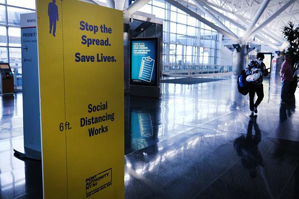 Kennedy Airport「JFK Airport Usage Dwindles During Coronavirus Outbreak」:写真・画像(7)[壁紙.com]