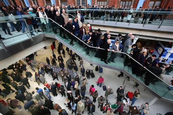 Railroad Station「St Pancras International Station Begins Its Eurostar Service」:写真・画像(6)[壁紙.com]