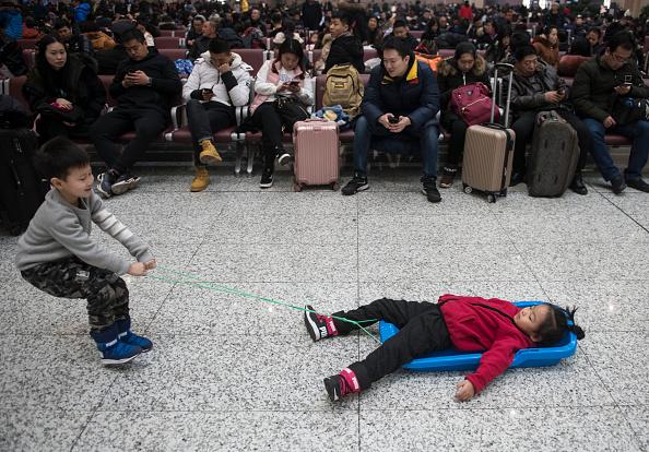 金融と経済「Spring Festival Travel Rush Starts In China」:写真・画像(15)[壁紙.com]