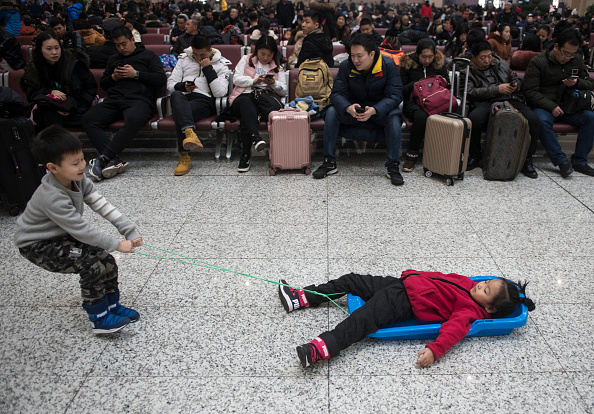 Human Interest「Spring Festival Travel Rush Starts In China」:写真・画像(12)[壁紙.com]