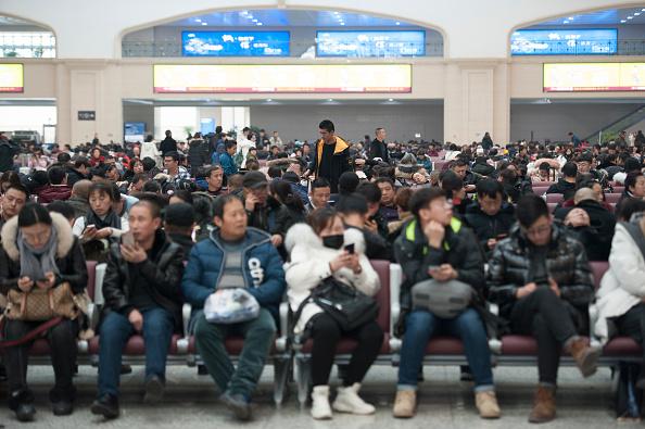 金融と経済「Spring Festival Travel Rush Starts In China」:写真・画像(13)[壁紙.com]