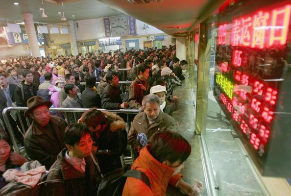 Passenger「China Prepares For Chinese New Year Traffic Peak」:写真・画像(0)[壁紙.com]
