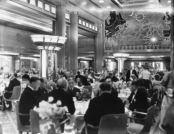 Dining Room「Queen Mary's Map」:写真・画像(12)[壁紙.com]