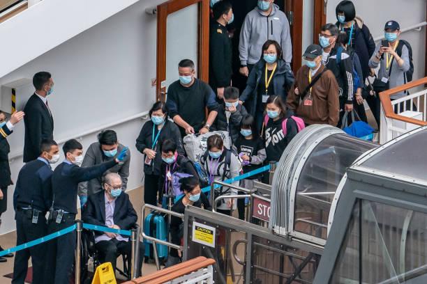 Hong Kong Screens Cruise Ship World Dream For The Wuhan Coronavirus:ニュース(壁紙.com)