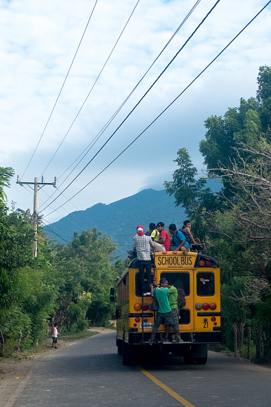 Perching「School Bus」:写真・画像(1)[壁紙.com]