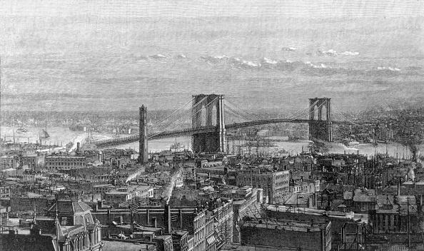 1880-1889「Brooklyn Bridge」:写真・画像(0)[壁紙.com]