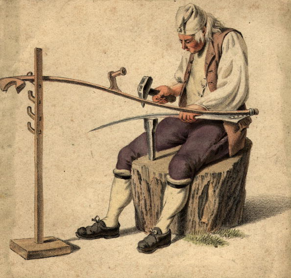 Craftsperson「Making Scythe」:写真・画像(17)[壁紙.com]