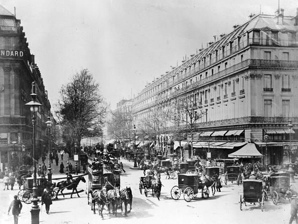 19th Century「Parisian Boulevard」:写真・画像(18)[壁紙.com]