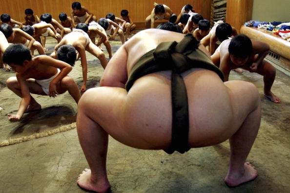 Learning「JPN: Japanese Children Learn The Art Of Sumo」:写真・画像(8)[壁紙.com]