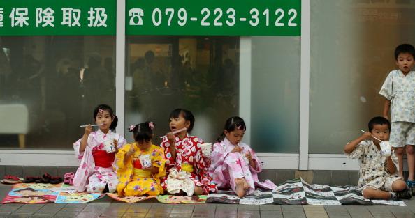 かき氷「Summer Kimono Festival In Himeji」:写真・画像(1)[壁紙.com]