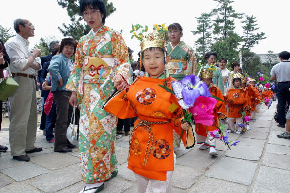 奈良県「Japan: Emperor Shomu Is Commemorated During Festival At Todaj-ji Temple」:写真・画像(16)[壁紙.com]