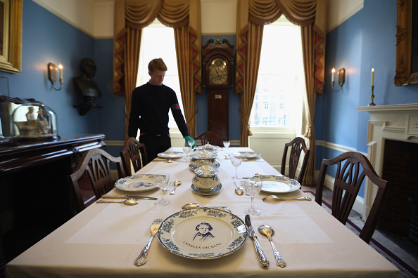 Dining Room「The Newly Refurbished Charles Dickens Museum Prepares To Open」:写真・画像(1)[壁紙.com]