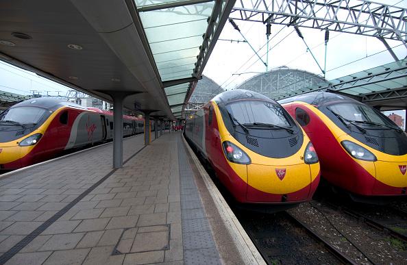 No People「Virgin trains, Manchester railway station」:写真・画像(3)[壁紙.com]
