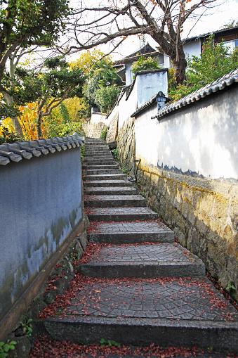 Japan「Way to Senko-ji Temple, Onomichi, Hiroshima, Japan」:スマホ壁紙(17)
