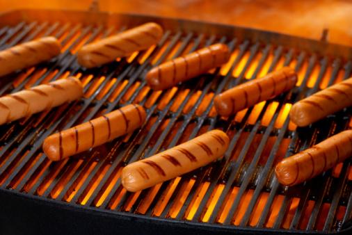 Hot Dog「Hot Dogs on Grill」:スマホ壁紙(19)